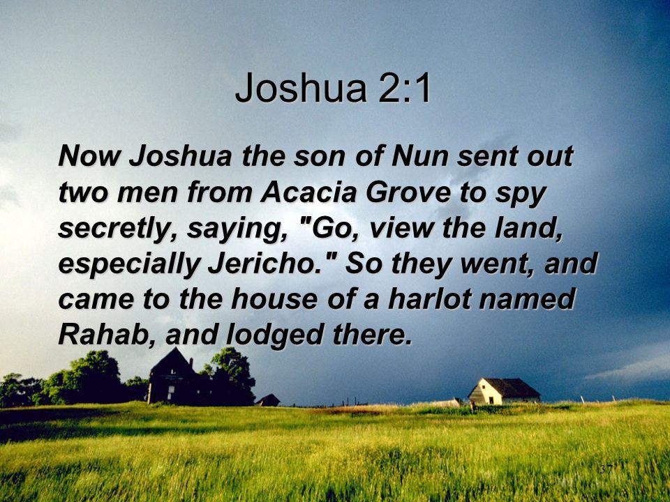 Joshua 2:1