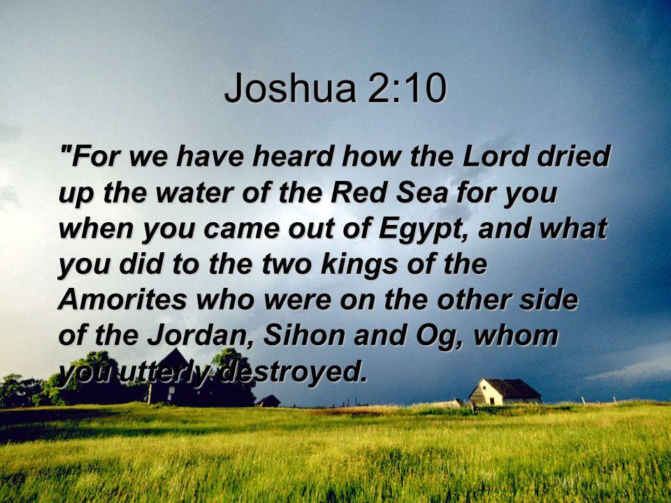Joshua 2:10
