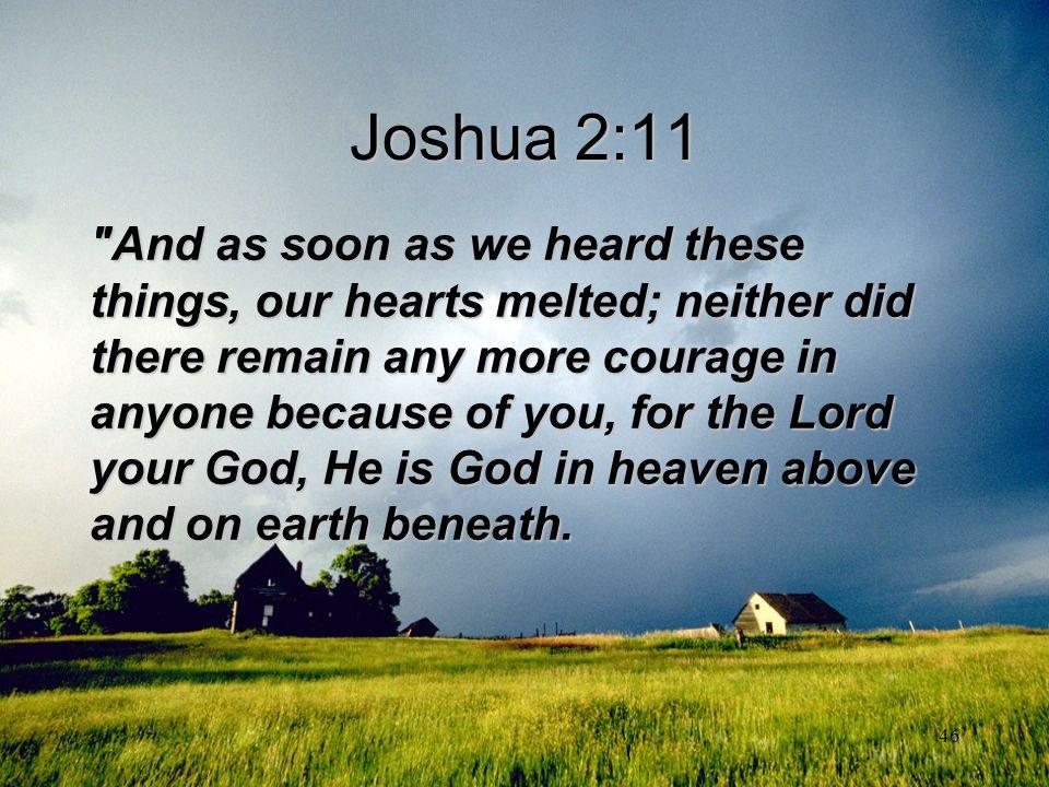 Joshua 2:11