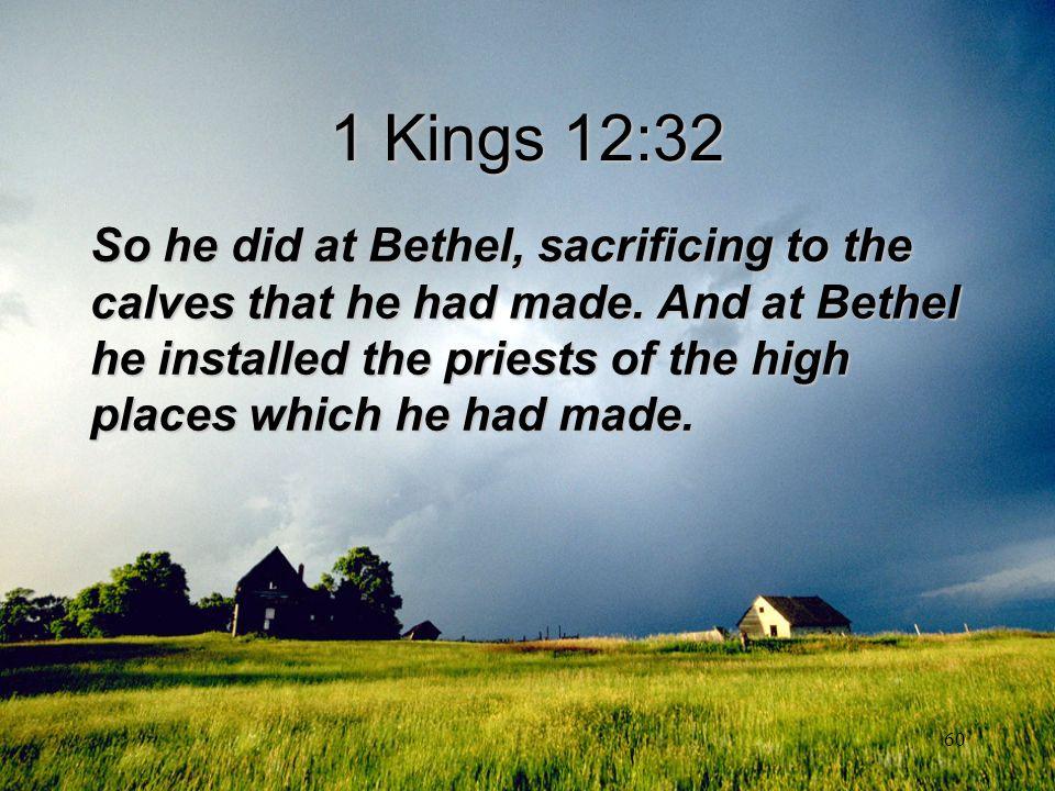 1 Kings 12:32