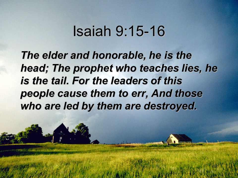 Isaiah 9:15-16