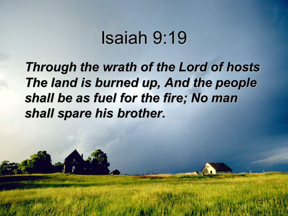 Isaiah 9:19