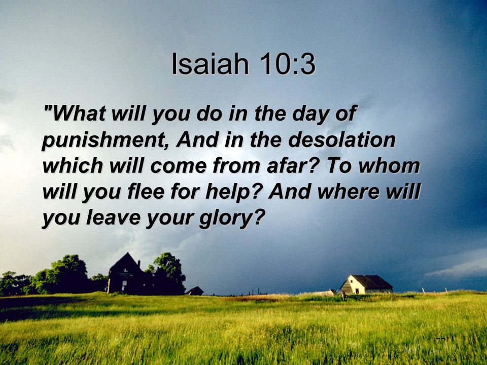 Isaiah 10:3