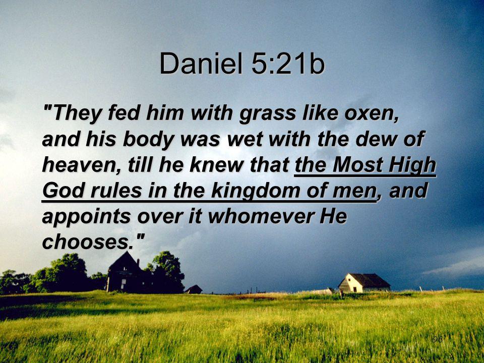 Daniel 5:21b