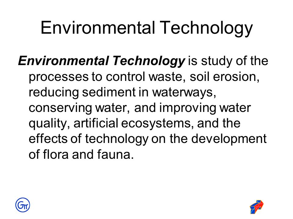 Environmental Technology