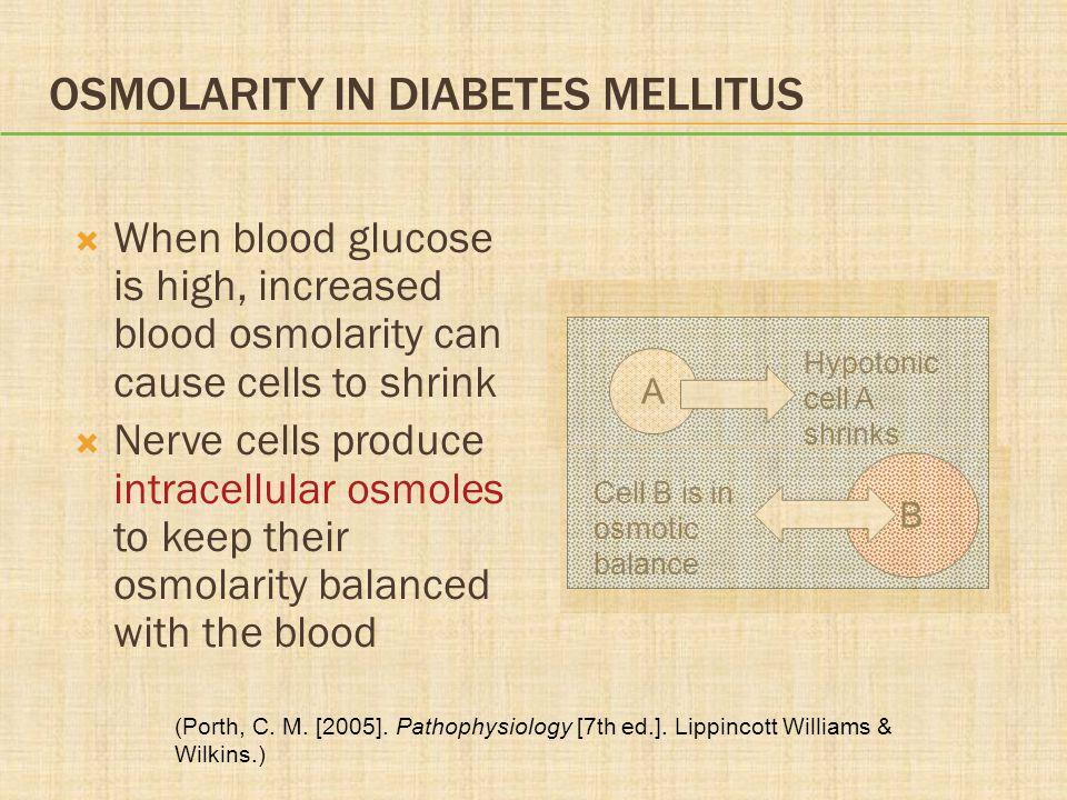 Osmolarity in Diabetes Mellitus