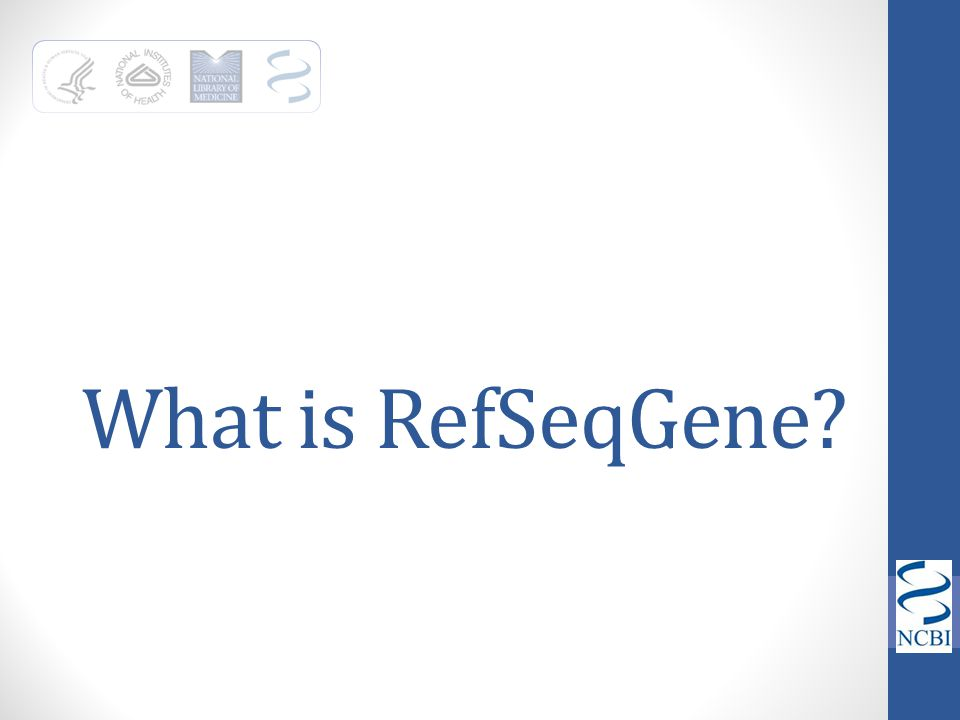 What is RefSeqGene