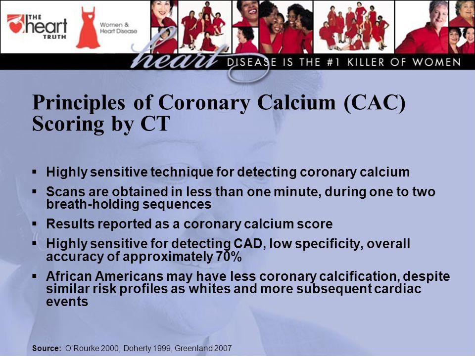 Principles of Coronary Calcium (CAC) Scoring by CT