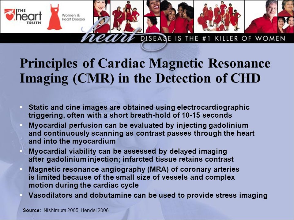 Principles of Cardiac Magnetic Resonance Imaging (CMR) in the Detection of CHD