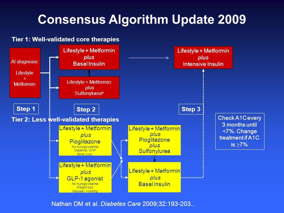 Consensus Algorithm Update 2009