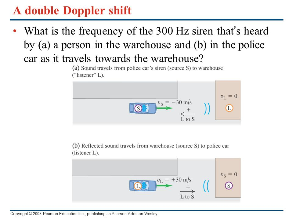 A double Doppler shift