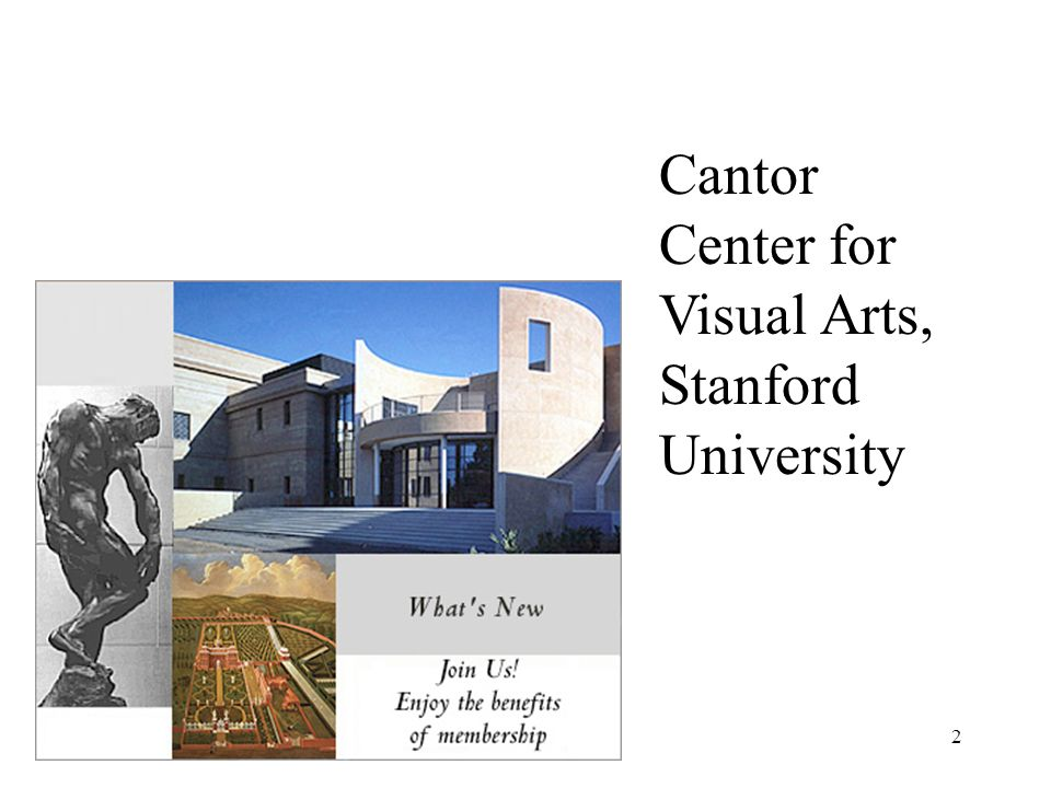 Cantor Center for Visual Arts, Stanford University