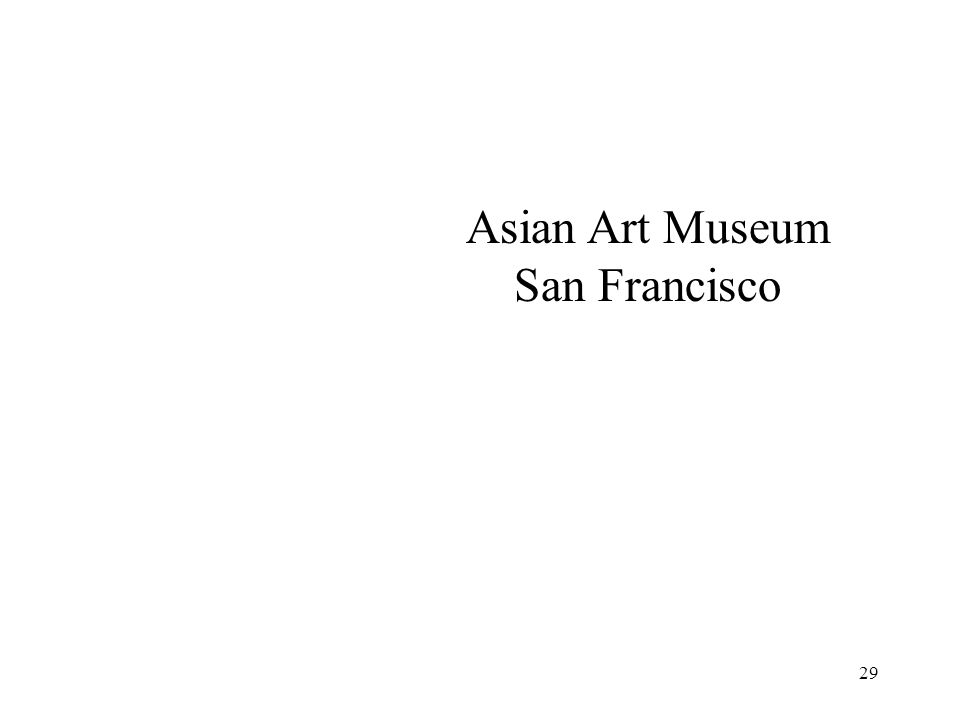 Asian Art Museum San Francisco