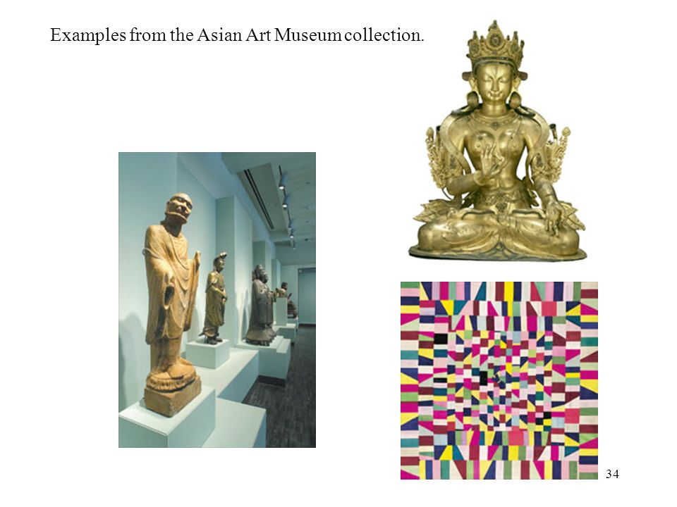Examples from the Asian Art Museum collection.