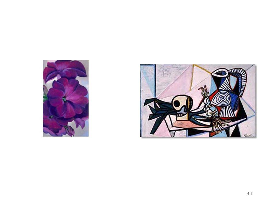 Geogia O'Keeffe. Petunias.