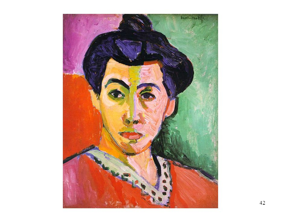 Henri Matisse. Green Stripe.