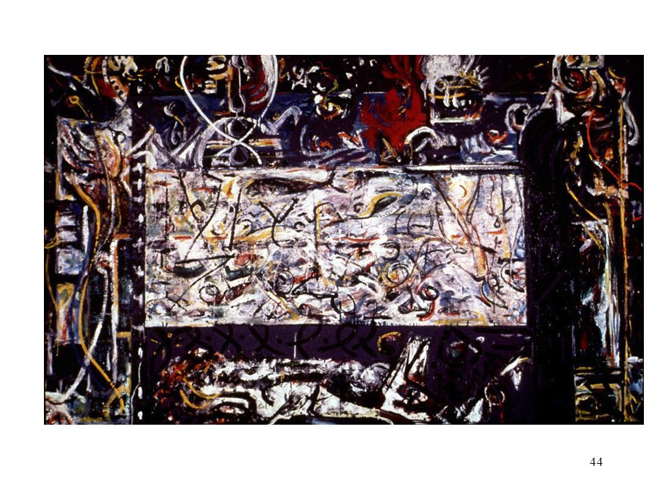 Jackson Pollock. Guardians of the Spirit.