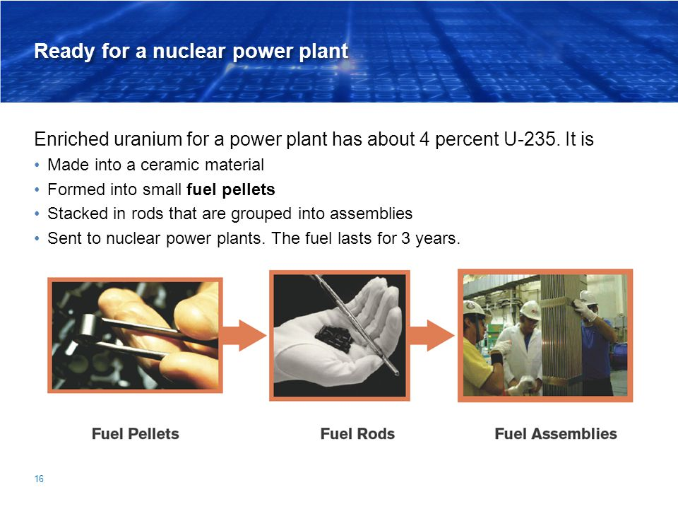 Ready for a nuclear power plant