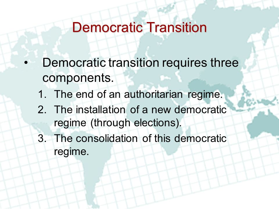 Democratic Transition