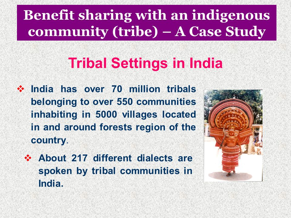 Tribal Settings in India