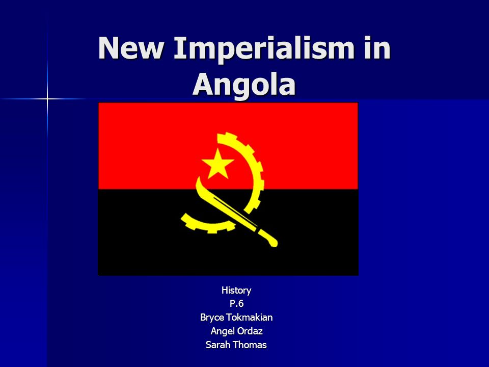 New Imperialism in Angola