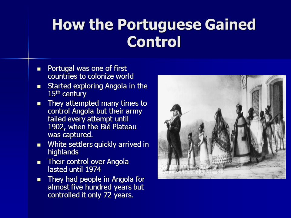 How the Portuguese Gained Control