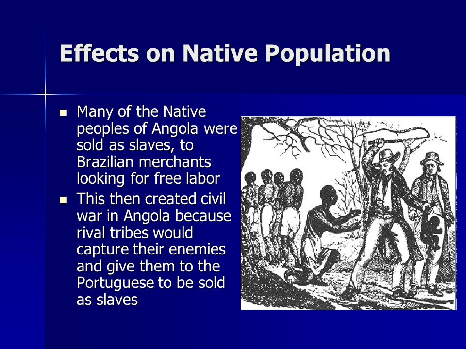 Effects on Native Population