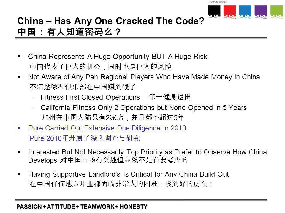 China – Has Any One Cracked The Code 中国:有人知道密码么?