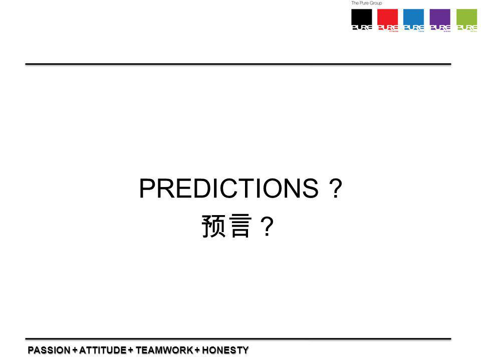 PREDICTIONS 预言?