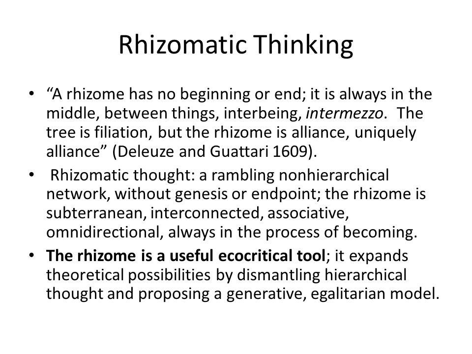 Rhizomatic Thinking