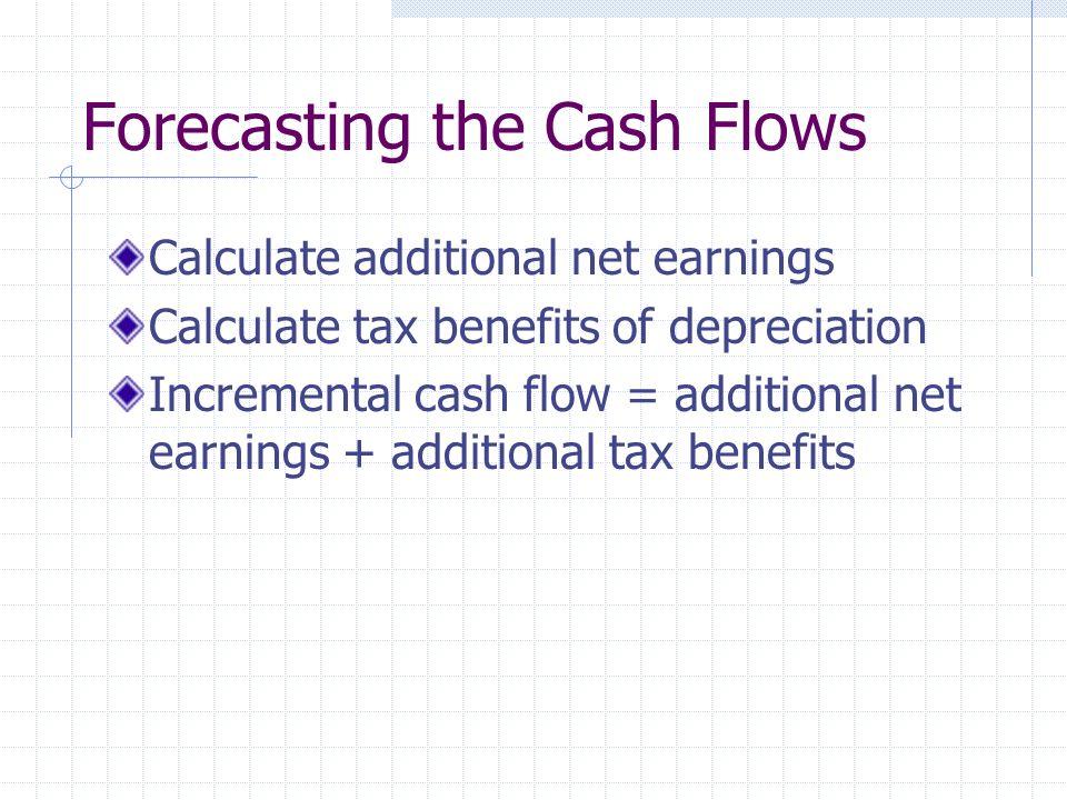 Forecasting the Cash Flows