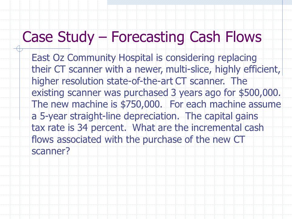 Case Study – Forecasting Cash Flows