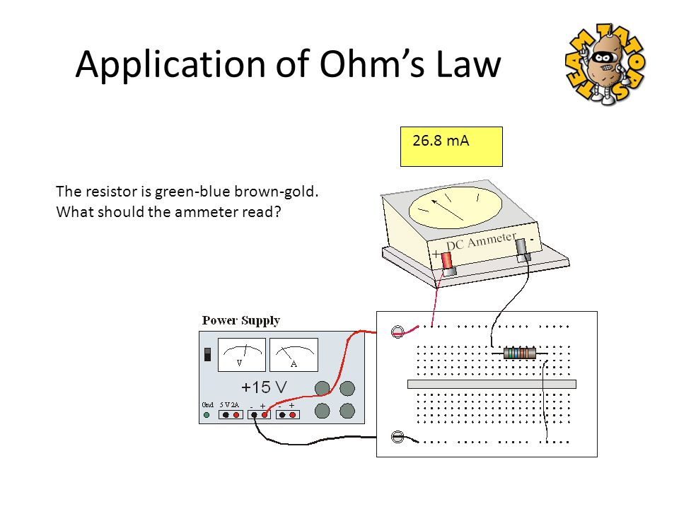 Application of Ohm's Law