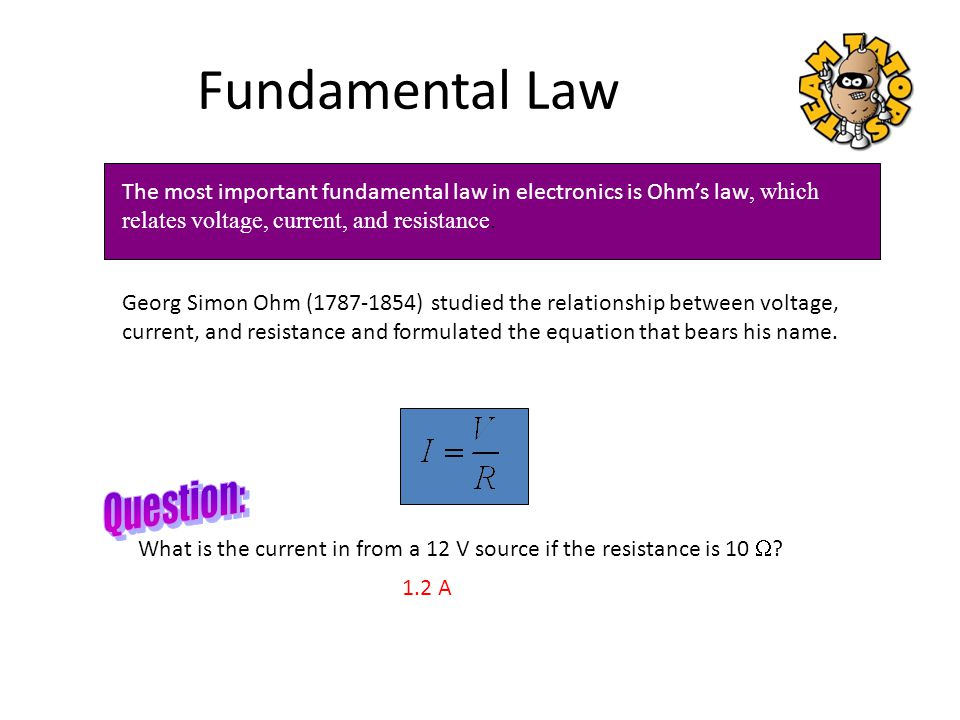 Fundamental Law Question: