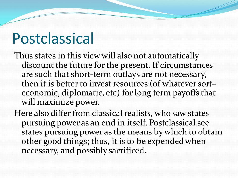 Postclassical