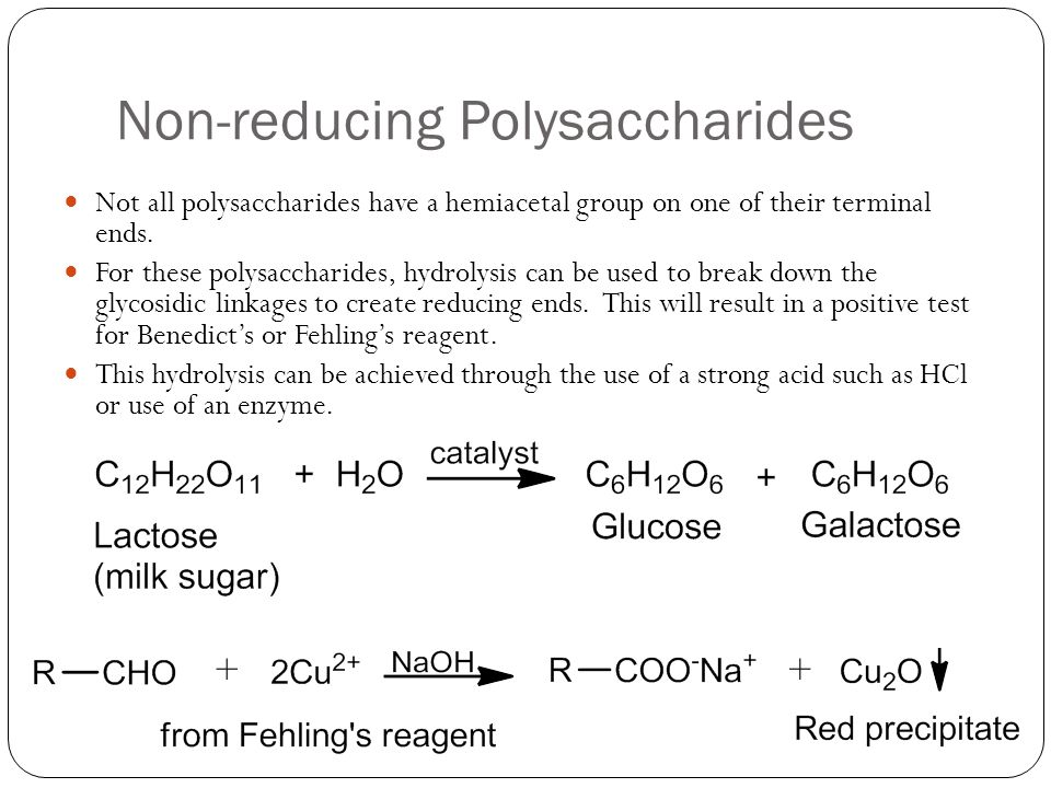 Non-reducing Polysaccharides