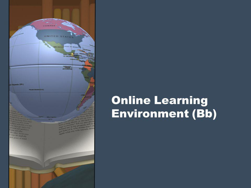 Online Learning Environment (Bb)