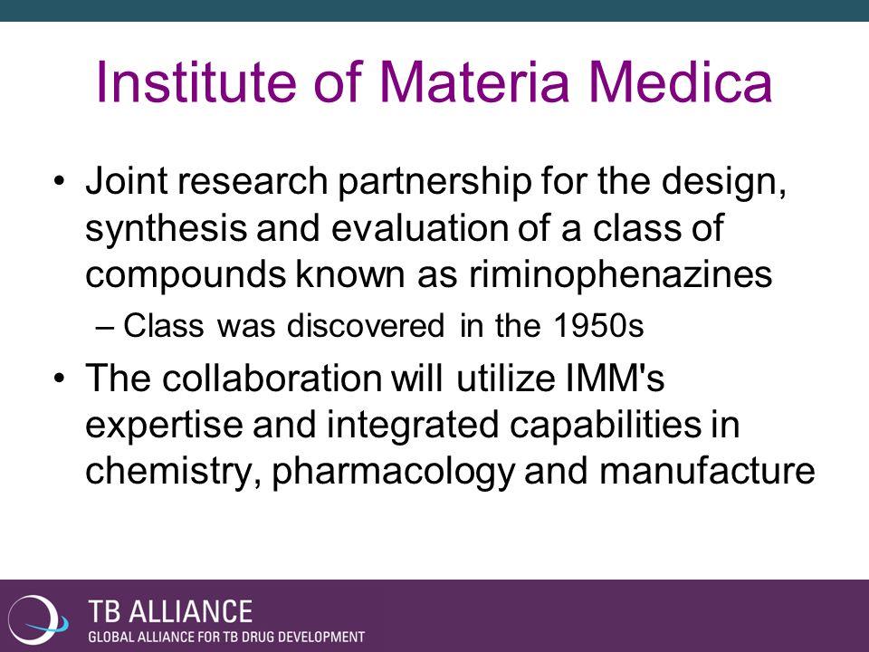 Institute of Materia Medica
