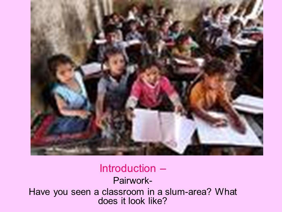 An Elementary School Classroom in a Slum -Stephen Spender