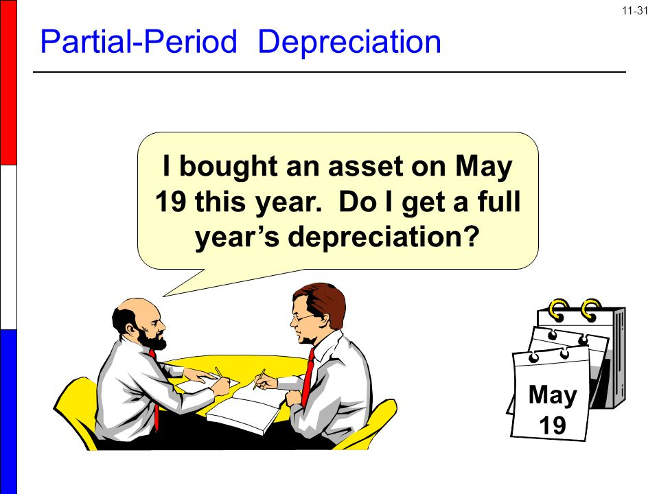 Partial-Period Depreciation