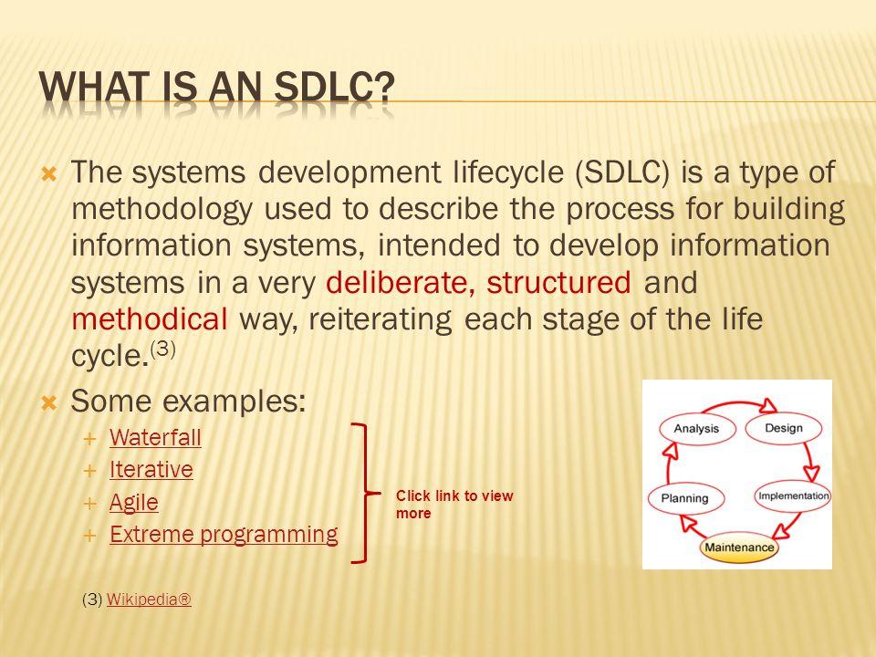 What is An SDLC
