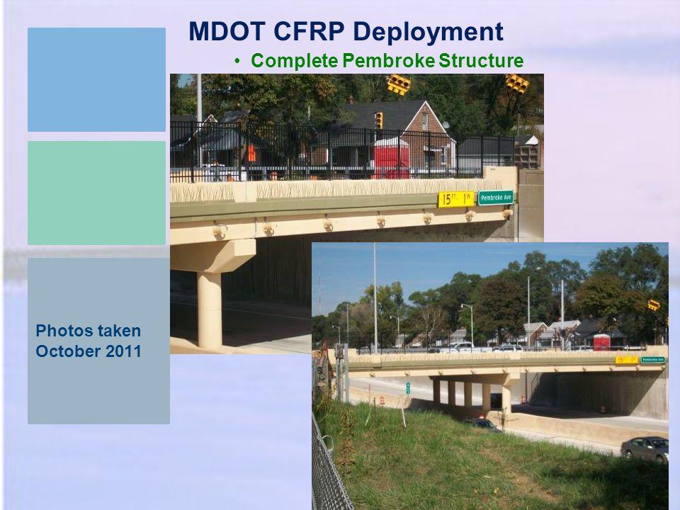 MDOT CFRP Deployment Complete Pembroke Structure