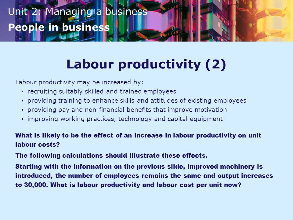 Labour productivity (2)