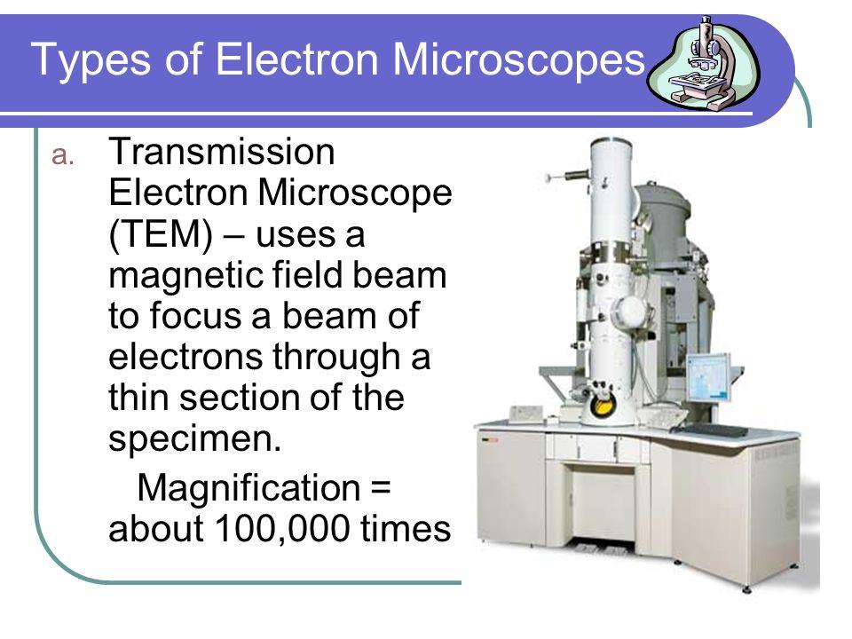 Types of Electron Microscopes