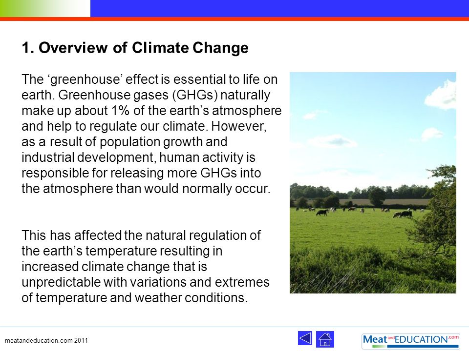 1. Overview of Climate Change