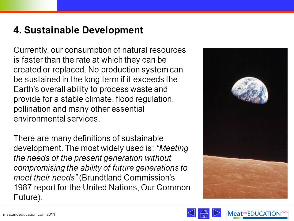 4. Sustainable Development