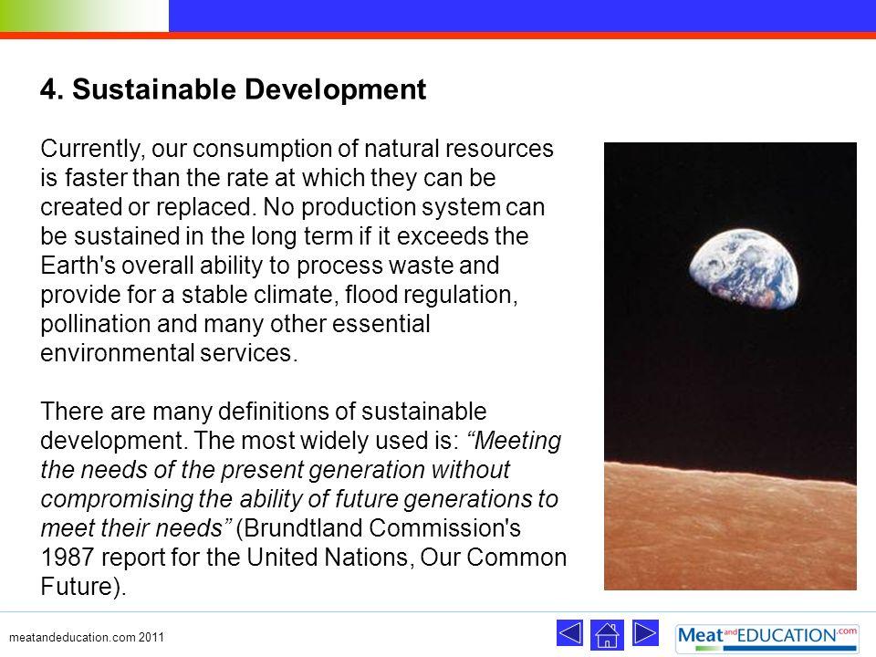 4. Sustainable Development