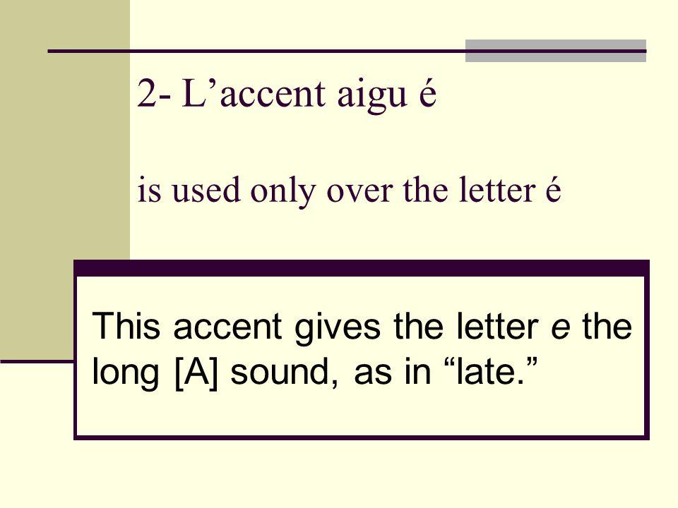 accent letter