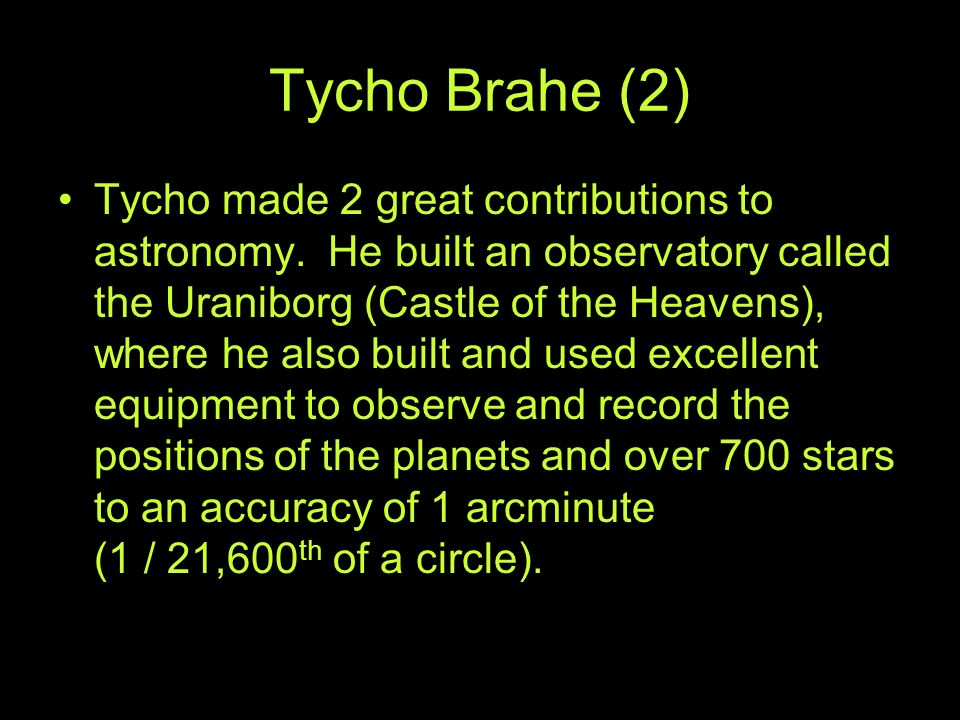 Tycho Brahe (2)