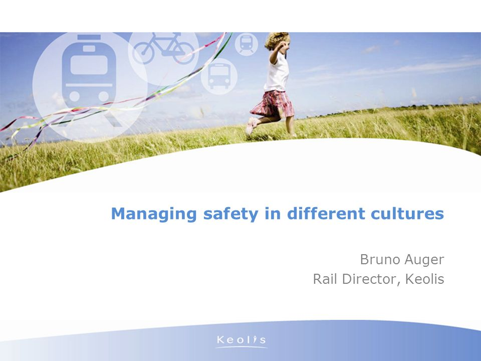 Managing safety in different cultures